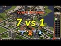 Red Alert 2 - 7 Brutals vs 1 Yuri
