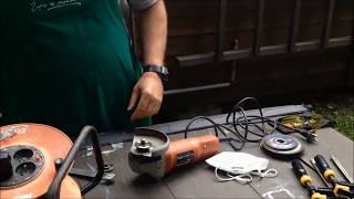 TomP Knifemaking - Knifemaking dla opornych: Wycinanie kształtu noża/Szlifierka kątowa