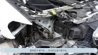 광주정비_BMW G30 5시리즈 엔젤아이 누렇게 변색된…