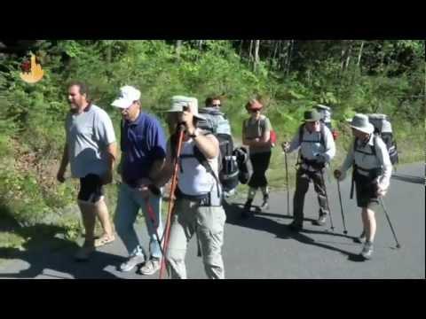 Pilgrims on Foot