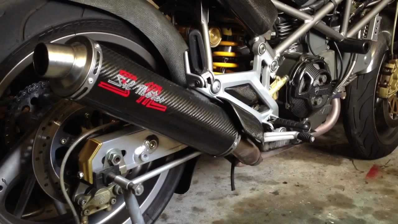 Ducati Monster Performance Exhaust