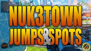 Black Ops 3 Jumps and Wall Run Spots - NUK3TOWN