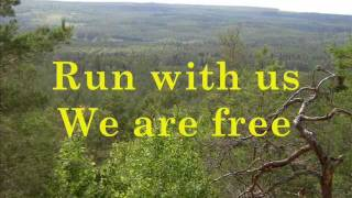 Lisa Laugheed - Run with us - with Lyrics