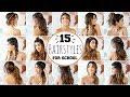 15 HEATLESS HAIRSTYLES FOR SCHOOL