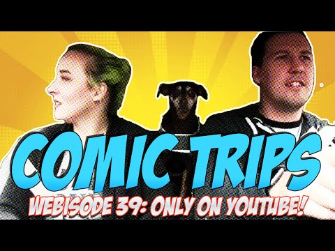 "Comic Trips: Webisode 39- ""Walk Like A New Egyptian"""