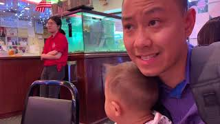 Our Family Vlog 46   Eating in Chinatown   AMWF Video