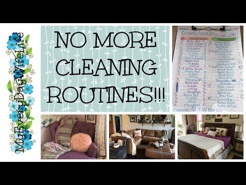 NO MORE CLEANING ROUTINES!!!!!!!