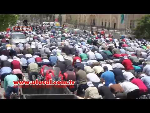 İsrail Mescidi Aksa'yı abluka altına aldı