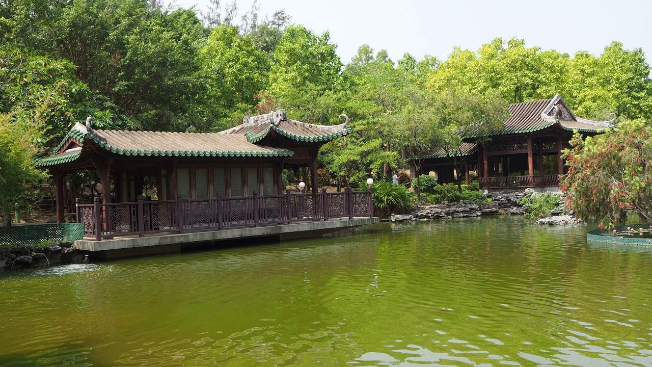 香港嶺南之風4K 中國古典建築風格 - YouTube