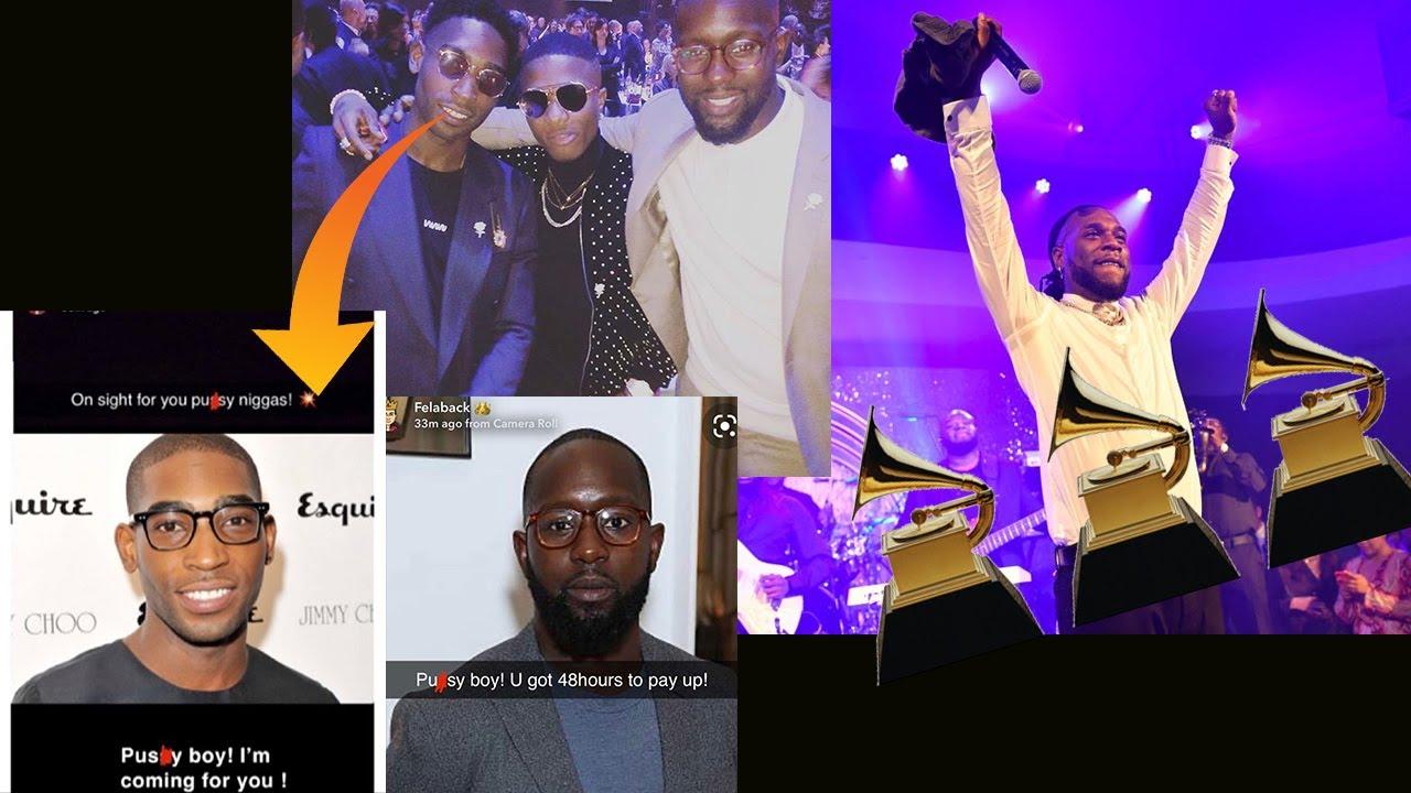Wizkid Got Scammed By Tinieh Tempah? X Burna Boy To Win Grammy