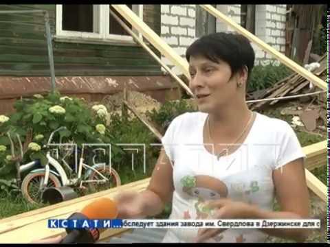 Перестраивая свой дом, хозяйка разрушила дом соседки.