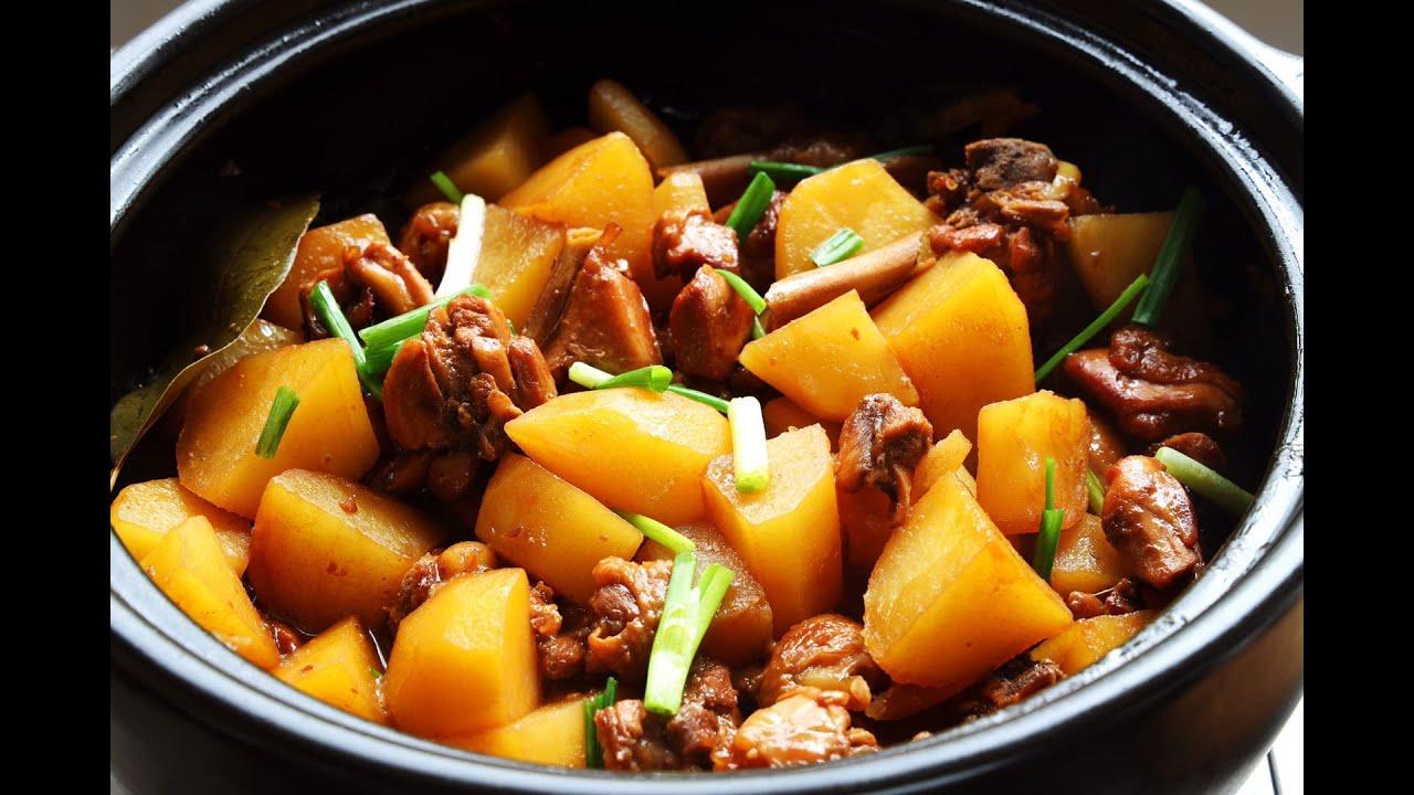 【雞腿燉土豆】 百吃不厭的經典家常菜,饞了就燉壹鍋,下飯!