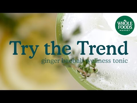 Ginger-Baobab Wellness Tonic | Food Trends | Whole Foods Market