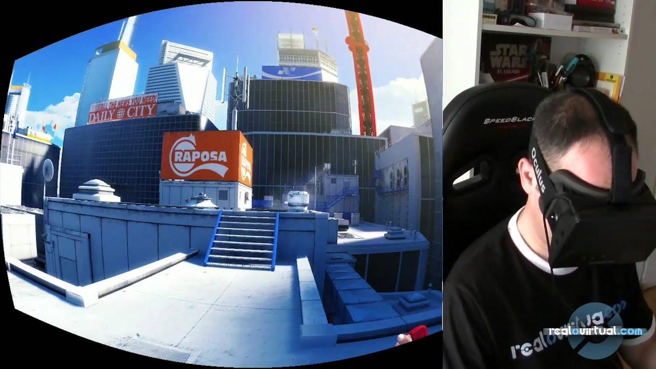 Mirrors Edge en el Oculus Rift - YouTube