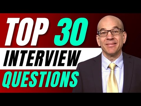 Top 30 Interview Questions - From a Recruiters Hiring Playbook