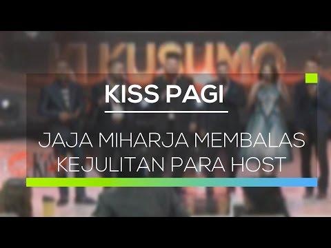 Jaja Miharja Membalas Kejulitan Para Host - Kiss Pagi