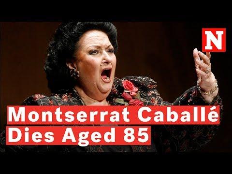 Opera Singer Montserrat Caballé Dies Aged 85