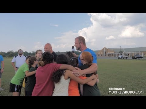 Acts of Kindness - Surprise for the Whitworth Buchanan Middle School soccer teams