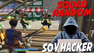 I pose as a hacker in Squad random and 2 kids believed me! - FORTNITE