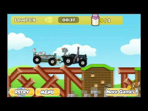 Tom & Jerry Tractor 2 Game - Y8.com Online Games by malditha