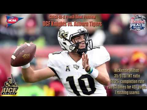 Chick-fil-A Peach Bowl Odds, Pick, & Prediction UCF Knights Vs. Auburn Tigers
