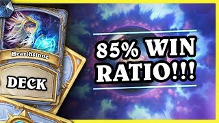 85% WIN RATIO NA 3 RANDZE!!! - GALAXY MAGE - Hearthstone Deck (Rise of Shadows)