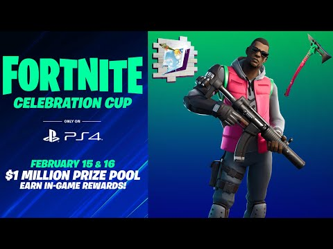 Fortnite PS4 Celebration Cup Announced! (Earn Free Rewards + $1,000,000 Prize Pool)