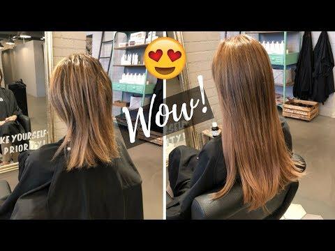 Lange Haare in Sekunden!