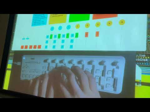"Steven Nelson ""Interactive Algorithmic Performance"" Algorithmic Music NYU 2017"