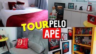 TOUR PELO NOSSO APARTAMENTO DECORADO | MMB