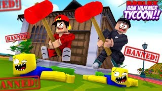 ROBLOX - ITS HAMMER TIME WITH ROPO & JACK!!