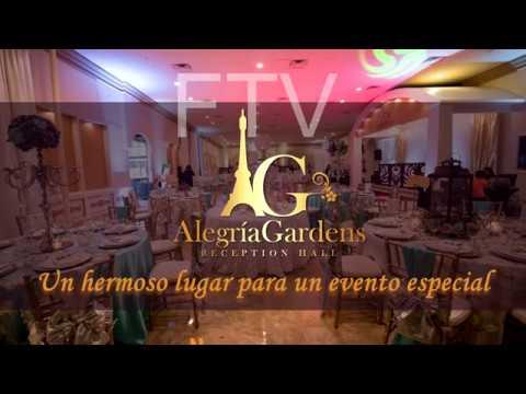 Alegria gardens reception hall youtube for Alegria gardens reception hall