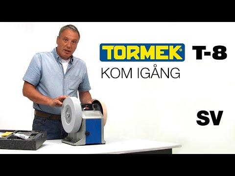 Tormek T-8 slipmaskin: Kom igång med Alan Holtham