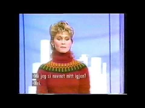 Olivia Newton John  - funny blunder clip 1987 ,720p