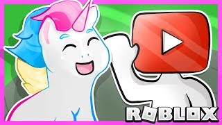 Roblox | Escape The Famous Youtuber Obby With Honey The Unicorn