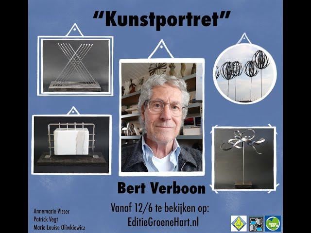 Kunstportret met Bert Verboon