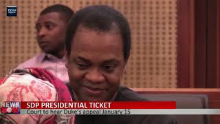 Court to hear SDP presidential candidate Donald Duke appeal January 15