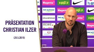 Pressekonferenz Präsentation Christian Ilzer