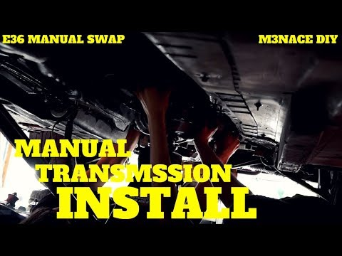 Manual Transmission Install: E36 Manual Swap