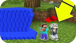 EN KÜÇÜK EVİMİ MİNİ TUSUNAMİ YIKTI! - Minecraft