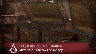 Assassin's Creed: Brotherhood guide / mission walkthrough in Full HD (1080p) with Full 100% Synchronization - Sequence 5 - The Banker - Mission 2 - Follow ...