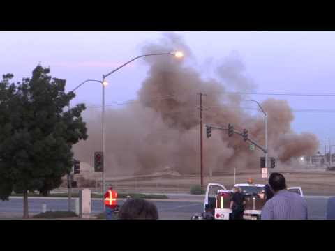 Implosion @ Kern Power Plant