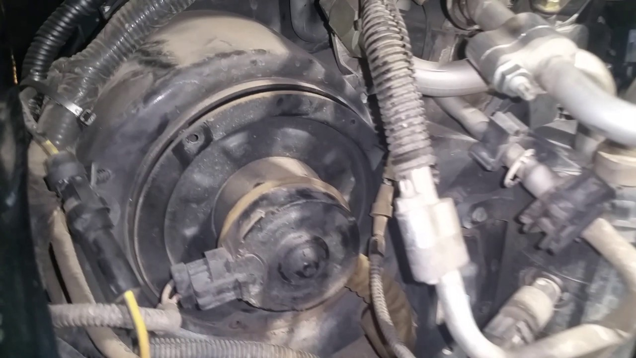 2002 excursion 73 removing blower motor and vacuum pump