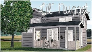 The Sims 3 Speed Build: Lil' Nugget, A Tiny House...