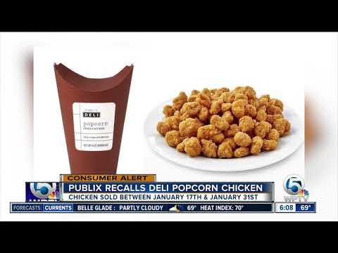 Kevin Campbell - RECALL ALERT: Publix Recalls Deli Popcorn Chicken