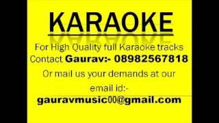 Jhalak Dikhla Jaa Aksar Karaoke Track