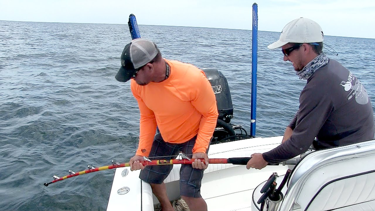 09. Catching and Releasing Sharks - TEXAS SHARK FISHING