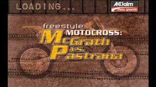 """[Ps1] Introduction du jeu """"Freestyle Motocross: McGrath vs. Pastrana"""" de l"""