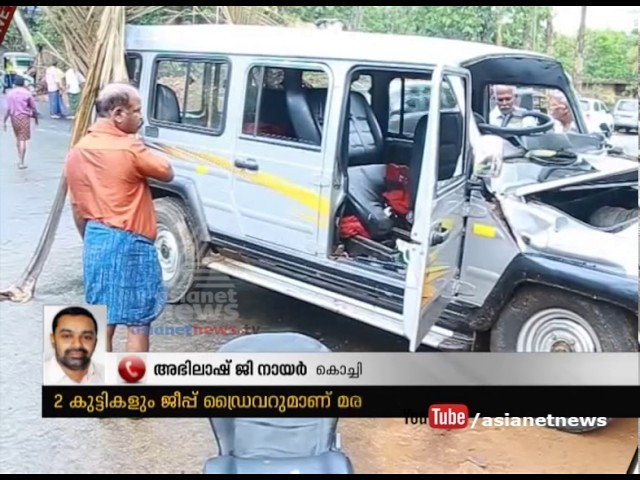 Three including two children killed in accident