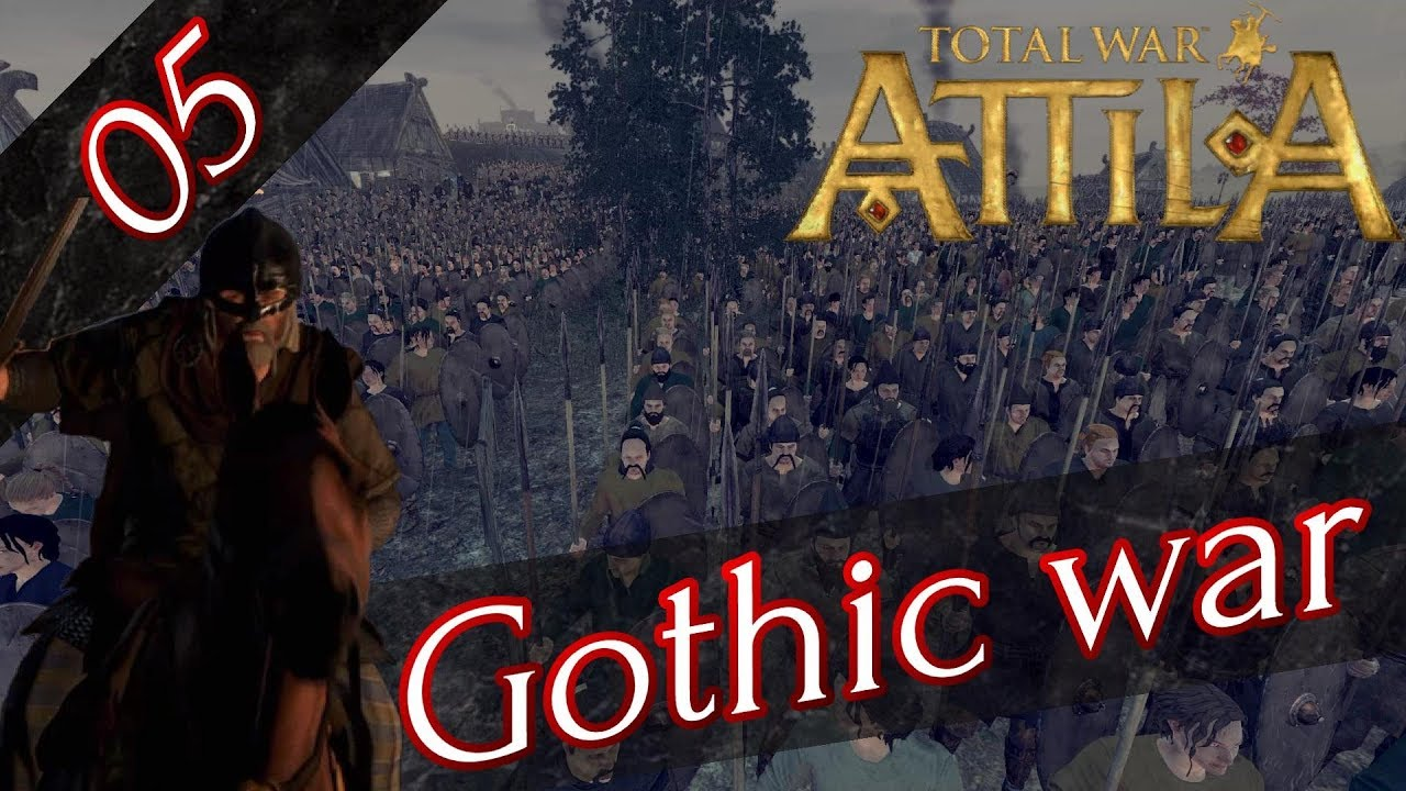 RTS】 #5 Total War: Attila ゴ...